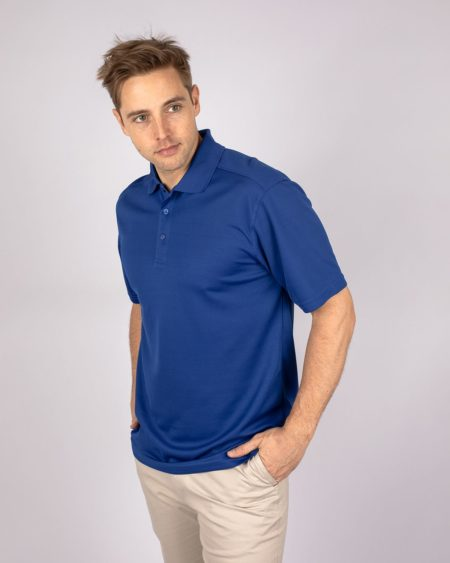 Men's Clique by CB Spin Dye Pique Polo | Cutter & Buck Australia