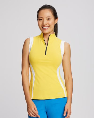 Ladies Swerve Sleeveless Mock Half-Zip | Cutter & Buck Australia