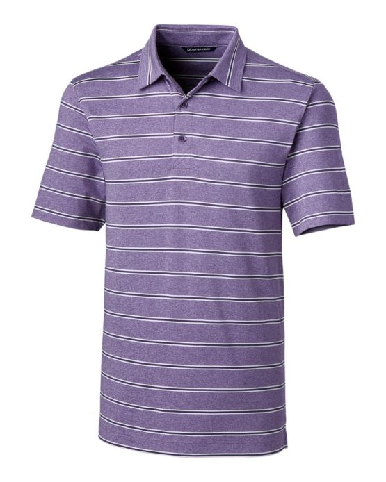 Forge Polo Heather Stripe | Cutter & Buck Australia